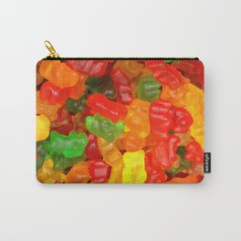red orange yellow colorful gummy bear Carry-All Pouch