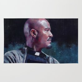 Father Gabriel With His Bible - The Walking Dead Rug