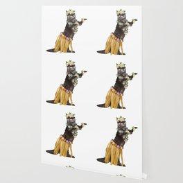 Otter the Hawaiian Dancer Wallpaper