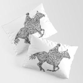 Horse Rider Pillow Sham