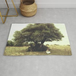 Under the tree Rug