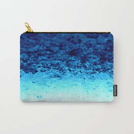 Blue Crystal Ombre Carry-All Pouch