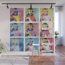 Celia Cruz Pop Art - The Immortal Queen of Salsa - Magical Realism Wall Mural