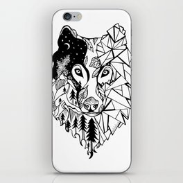 Prism Wolf iPhone Skin