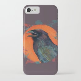 Raven Sun iPhone Case