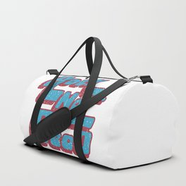 Rock not dead print Duffle Bag