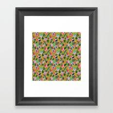 Cool summer in the mustard Framed Art Print