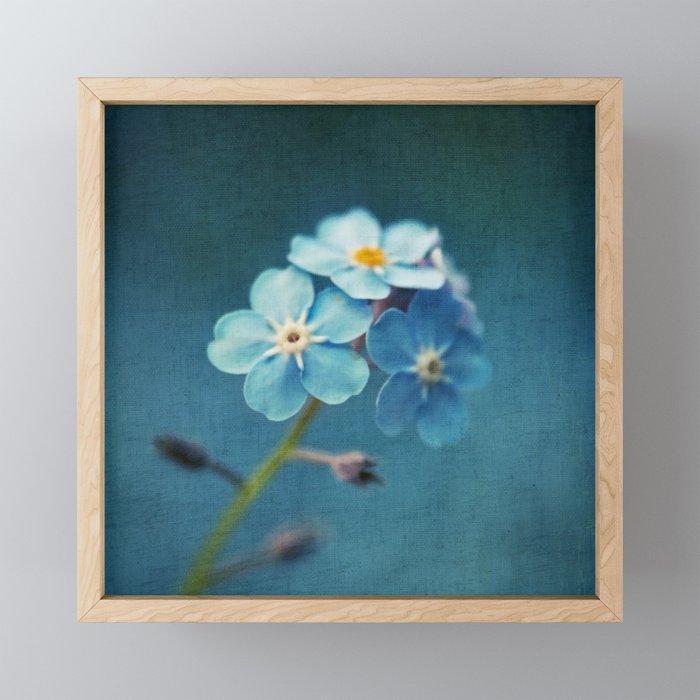 I'm Blue For You Framed Mini Art Print