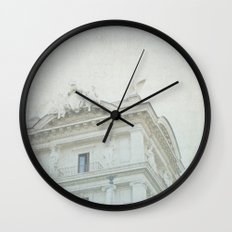 Letters From Roma II - Rome Wall Clock