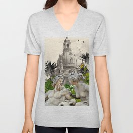 LOVE WITHOUT BARRIERS  Unisex V-Neck
