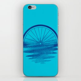 Blue Sunset Mystery iPhone Skin