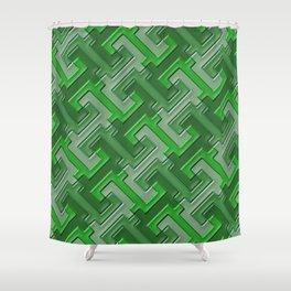 Geometrix 136 Shower Curtain