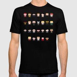 Rock Music Alphabet T-shirt