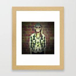 Chimp Framed Art Print