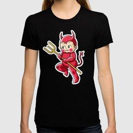 Little Red Devil Kewpie Baby T-shirt
