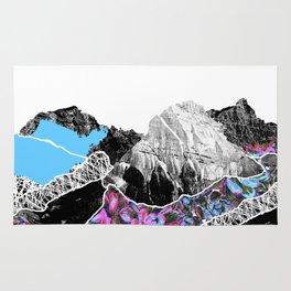 Floral landslide Rug