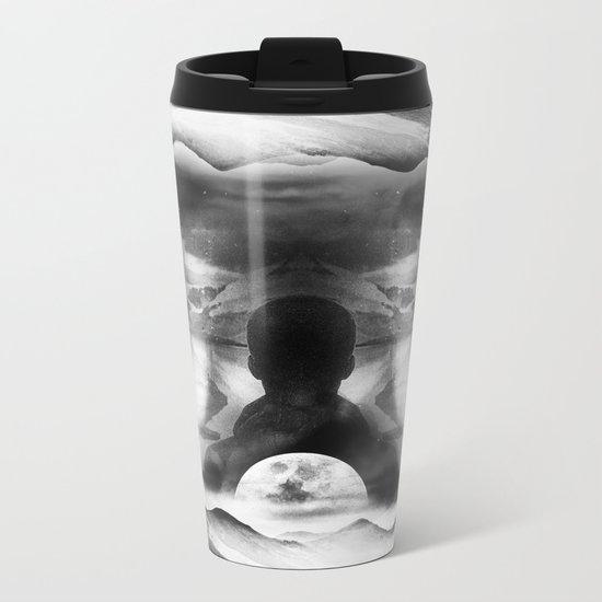 Moon of isolation Metal Travel Mug