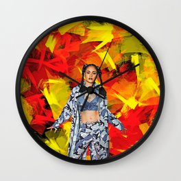 Kehlani - Celebrity Art (Modern Style) Wall Clock