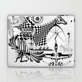 Falling In Laptop & iPad Skin