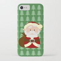 santa iPhone & iPod Cases featuring Santa by Alapapaju