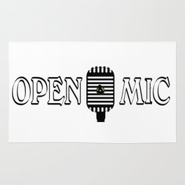 Open Mic Night Rug