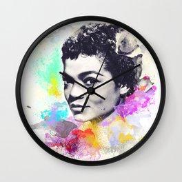 Eartha Kitt I Wall Clock