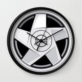Wheel Design Bolbo Hydra Wall Clock