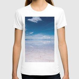 Salt Flats of Salar de Uyuni, Bolivia #1 T-shirt