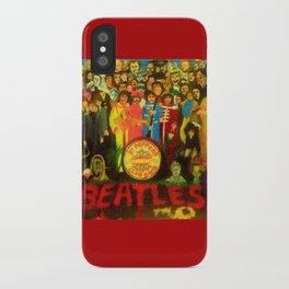 SGT PEPPER iPhone Case