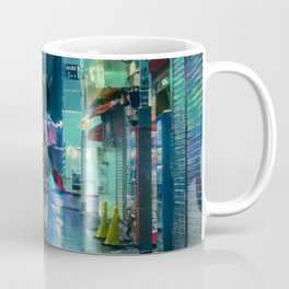 Rainy Tokyo At Night Coffee Mug
