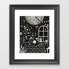 Moon Altar Framed Art Print