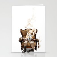 ghost in the shell Stationery Cards featuring The Ghost in the Shell by Peejay Catacutan
