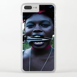 South France Clear iPhone Case