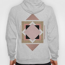 Carré rose Hoody