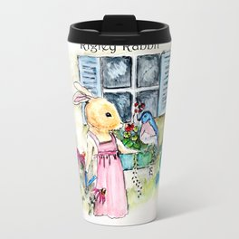 Watercolors from Rigley Rabbit and his Ginormous Floppy Ears Travel Mug