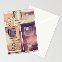 New York Newspapers Stationery Cards