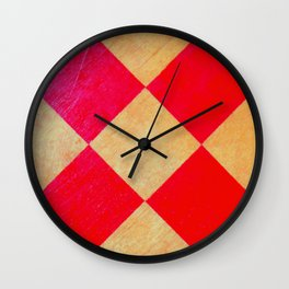 Vibrant Checkmate Wall Clock