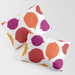 Shapes and Threads Pillow Sham