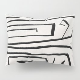 Modern improvisation 02 Pillow Sham