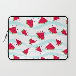 Watermelon pattern . Retro . Laptop Sleeve