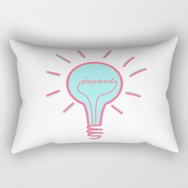 Jugaad - Conquer the World With Creativity, Ideas & Innovation Rectangular Pillow