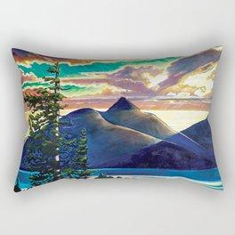 Into The Glow Rectangular Pillow