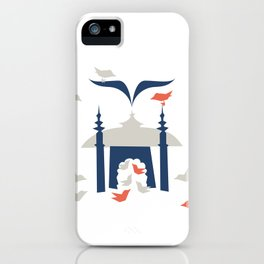 Gathering Birds (Home) iPhone Case