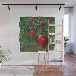 Tudor Pomegranate Tree Wall Mural