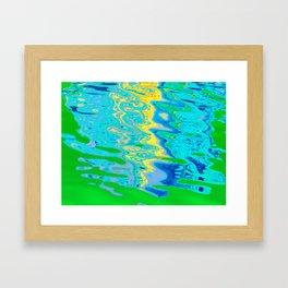 Abstract River Framed Art Print