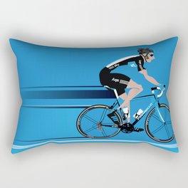 Bradley Wiggins Team Sky Rectangular Pillow