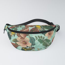 FLORAL AND BIRDS XIII Fanny Pack