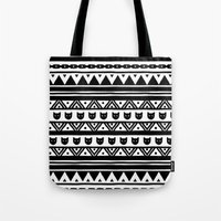 ethnic Tote Bags featuring |Ethnic by Ricardo Carreno
