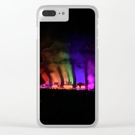 1975 Greek Theatre Clear iPhone Case