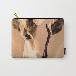 Beautiful and fast - Impala portrait Carry-All Pouch